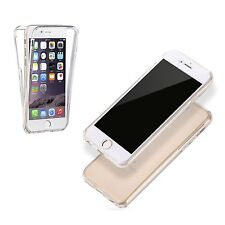 iPhone 5/5S Ultra Thin Soft Front & Back Silicone TPU Case Cover Shockproof