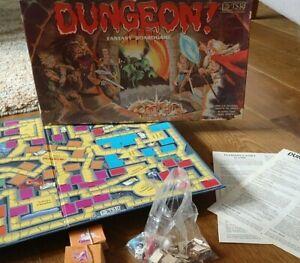 Dungeon! - 1981 TSR Fantasy Board Game RPG - Dungeons & Dragons