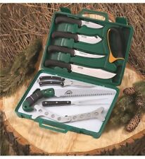 Outdoor Edge Butchering GAME-PROCESSOR (12 Pcs) - Portable Box Knife Set OE-PR-1