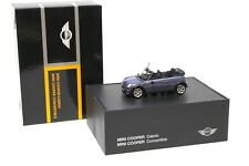 1:43 Minichamps Mini Cooper R52 Convertible Cool blue NEW bei PREMIUM-MODELCARS