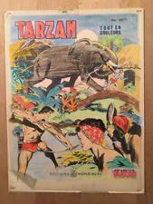 TARZAN - Dessin original de couverture avec calque couleurs - BE