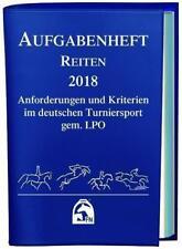 Aufgabenheft Reiten 2018 (2017, Leinen-Ordner)