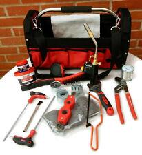 Tools Tool Kit Plumber or Apprentice Tote Bag, Blow Torch, Solder, Soldering