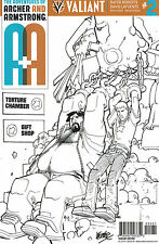 Adventures Of Archer And Armstrong #1 Lafuente 1:50 Variant Cover! Nm Or Better
