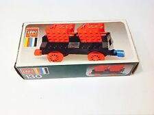 VINTAGE LEGO TRAIN SET **130**DOUBLE TIPPER WAGON BOXED 100% COMPLETE