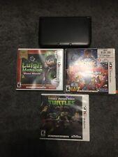 Nintendo 3DS XL Black Handheld Console Bundle