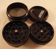 "Medium 2.2"" Black 4 Piece SANTA CRUZ SHREDDER Aluminum Grinder Glossy Finish"