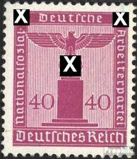 Imperio Alemán d165 nuevo 1942 sello de franqueo oficial
