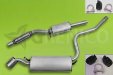 Komplette Auspuffanlage + Montagesatz FIAT CINQUECENTO 1.1 Sporting 1994-1998