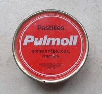 Boite Ancienne Tôle Métal Pastilles Pulmoll Pharmacie Collection Tin Box #4