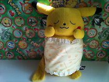 "Pokemon Plush Pikachu 15"" Dx Pillow Cushion roll Huge Stuffed Ufo doll figure"