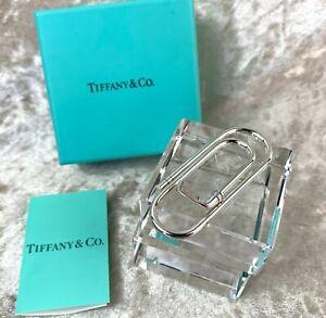 Tiffany &Co Roller Money Bill Clip Rare Silver Golf Club Sterling Silver w/ Case