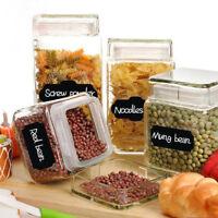 40pcs/set Erasable Blackboard Sticker DIY Kitchen Jars Labels Chalkboard Stic AS