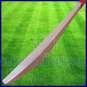 Senior Custom Plain Hand Made English Willow Cricket Bat +Extra, FREE KNOCKED IN