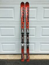 Head XRC Carbon Pro Jacket Skis 170 cm Red with Bindings