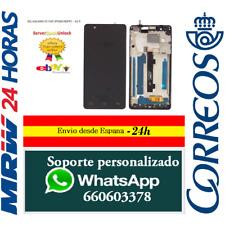 Pantalla Original Completa Marco para BQ Aquaris E5 FHD Negra IPS5K0760FPC-A1-E