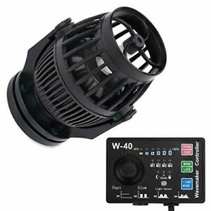 Uniclife 3400 GPH Controllable Wavemaker with W-40 Controller and Magnet Moun...