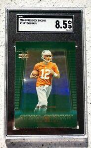 2000 UD Encore Tom Brady Rookie Card RC #254 SGC 8.5 💎📈🔥 LOW POP!