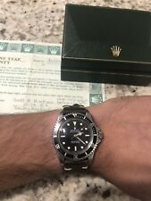 Rare 1982 Mens Vintage Rolex Submariner 5513 With Box And Papers Serviced