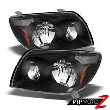 For 03-05 Toyota 4Runner 4 Runner [TRD STYLE] Crystal Black Headlights Assembly