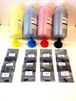 1,000g (1kg) + Dell Laser Printer Refill Kit-Toner Powder & 12-Resetting Chips.