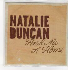 (DQ692) Natalie Duncan, Find Me A Home - 2012 DJ CD