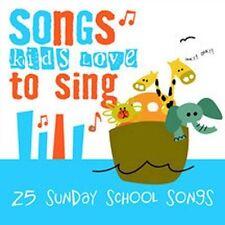 NEW Sunday School Songs (Audio CD)