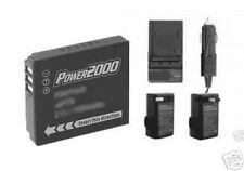 CGA-S005E/1B Battery + Charger for Panasonic DMC-FX150 DMC-FX01EB-S DMC-FX01EB-W