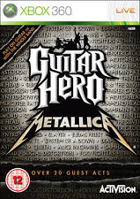Guitar hero: metallica xbox 360 * en excellent état *