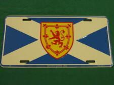 SCOTLAND FLAG LICENSE PLATE ST ANDREW'S CROSS SIGN L062