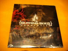 Cardsleeve Full CD BURNING SKIES Desolation PROMO 10TR 2006 hardcore grindcore