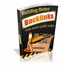 Build Better Backlinks And Gain More Website Traffic -  Improve Search Rank (CD)