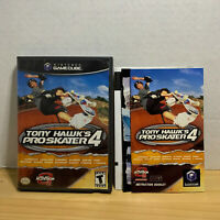 Tony Hawk's Pro Skater 4 (Nintendo GameCube, 2002) COMPLETE! TESTED & CLEANED!