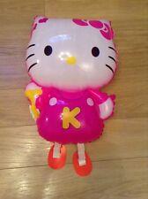 Nuevo Hello Kitty Caminar Globo. Gratis P&P