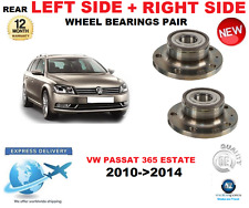 FOR VW PASSAT REAR WHEEL BEARINGS PAIR 2010->2014 365 ESTATE LEFT and RIGHT SIDE