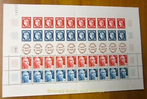 EBS France 1949 - Centenary French Stamps - FULL SHEET - YT 833A MNH**
