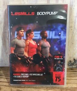 Les Mills Body Pump Release #75 DVD CD Notes