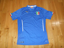PUMA ITALIA NATIONAL SOCCER TEAM JERSEY KIT MENS L FIGC BALOTELLI WORLD CUP FIFA