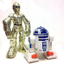 STAR WARS Playskool Chunky kids figures R2D2 & C3PO Droids robots set