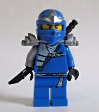 Lego JAY ZX Ninjago Blue Ninja Minifigure with sword 9445 9449 9450 9553 9442