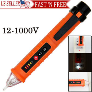 AC Non-Contact LCD Electric Test Pen Voltage Digital Detector Tester 12~1000V