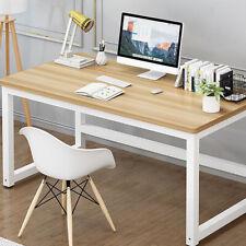 Office Wood Computer Table Home Study Desk Modern Furniture Workstation US