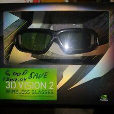 NVIDIA 3D Vision 2 Active 3D Glasses Kit NIB! FREE SHIPPING!