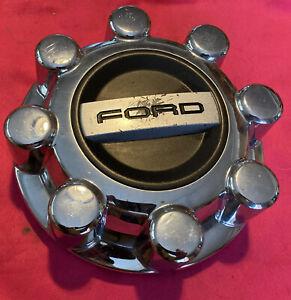 2017 2018 Ford F-250 F-350 SD 8 lug Chrome Wheel Center Cap HC3C-1A096-KC Hubcap