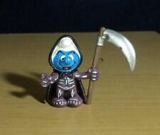 Smurfs Grim Reaper Halloween Smurf Figure Germany Vintage Toy PVC Figurine 20545