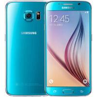Samsung Galaxy S6 G920F 32GB Blau Smartphon Handy 4G LTE NEU
