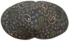 Green Paisley - Medical Adult Glasses Patch REGULAR Soft Washable sold to NHS