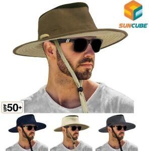 Bonnie Hat for Men Wide Brim Sun Protection Outdoor Hiking Fishing 50+UPF Bucket