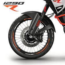 KTM 1290 Super Adventure R motorcycle wheel decals stickers rim stripes 21 18''