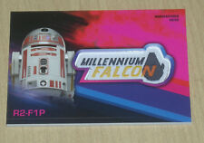 2018 Topps Star Wars SOLO maunfactured patch PINK parallel R2-F1P 24/99